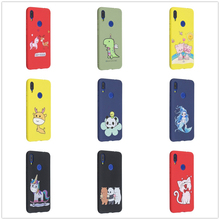 Case for Redmi Go Note 7 7s 6 6A Cover Pro A1 A2 Soft Cases Cute Cartoon Protection Xiaomi Xiomi Remi Note7 Note6 Coque