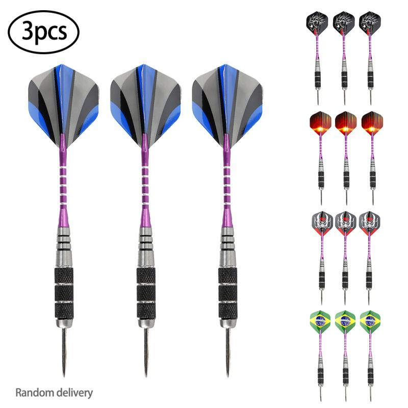 2020 High Quality 3PCS 22g Professional Steel Tip Darts Anti-drop Durable As A Birthday Party Barrel Darts Gift For Children