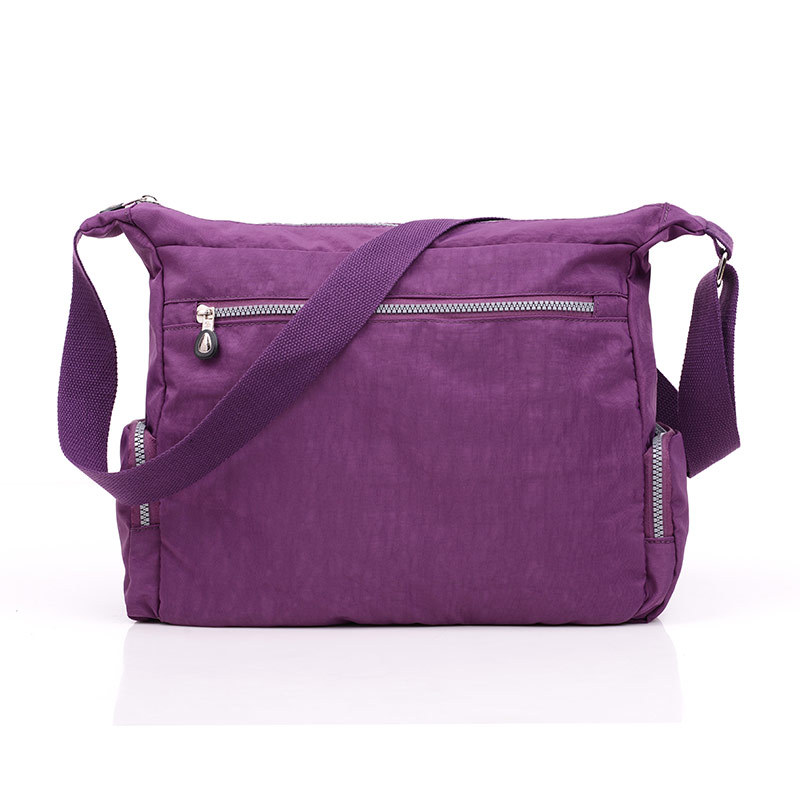 2017 New Style Korean-style Waterproof Nylon Crossbody Bag Women's Lightweight Large-Volume Diaper Bag Travel Over-the-shoulder