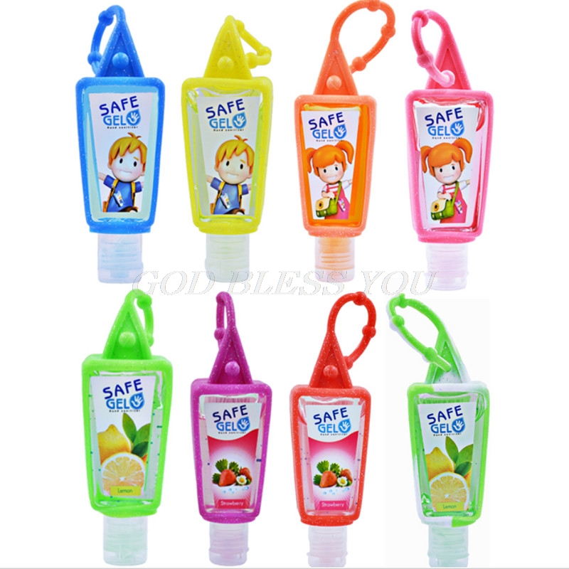 30ml Outdoor Cleansing Fluid Travel Portable Mini Hand Sanitizer Disposable No Clean Waterless Hangable Scented Gel Leak Proof