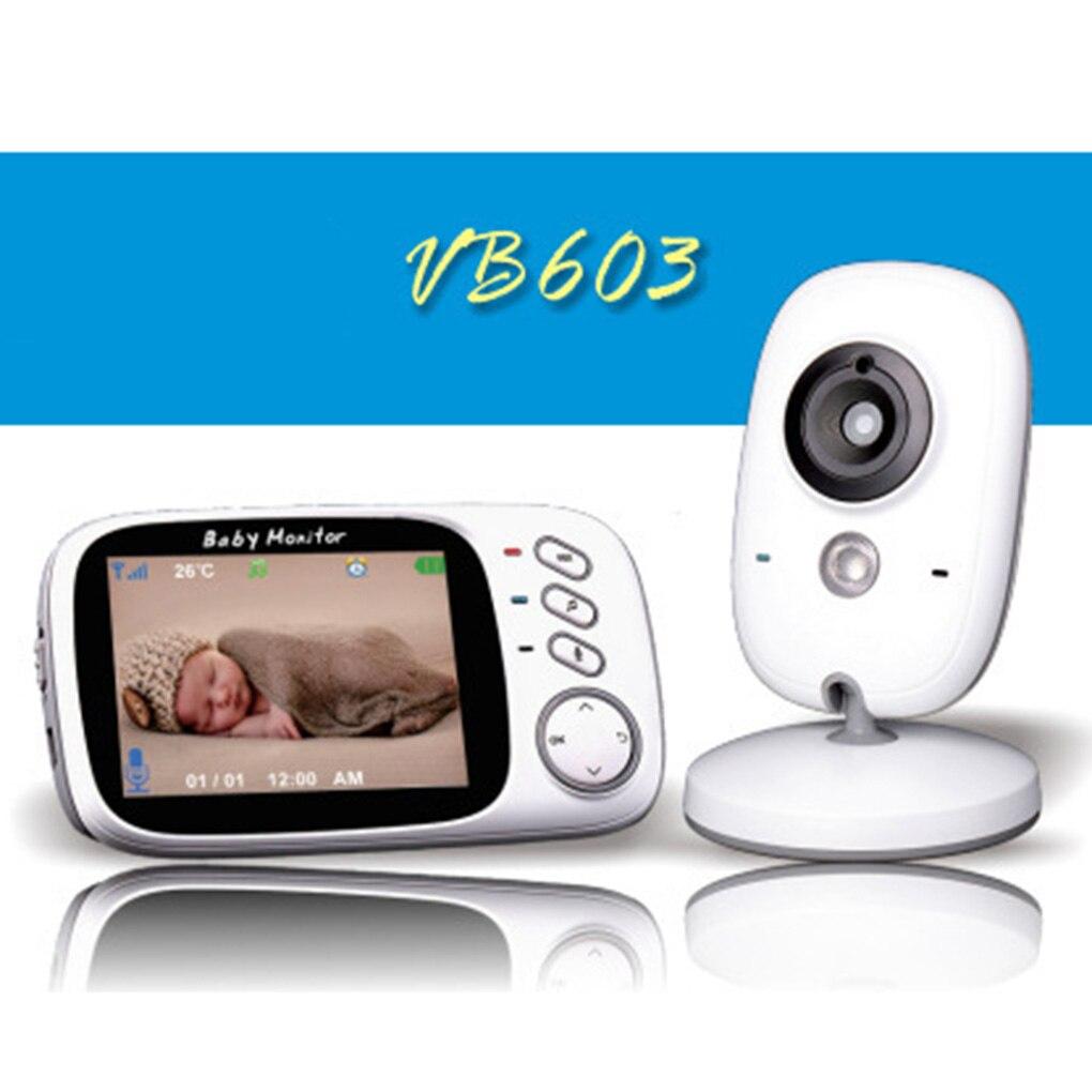Baby Monitor VB603 Wireless LCD Audio Video Radio Nanny Music Intercom IR 24h Portable Baby Camera Baby Walkie Talkie Babysitter