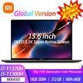 2021 Xiaomi Laptop Pro 15 i7-11370H/i5-11300H MX450 OLED 3.5K Super Retina Screen Notebook 15.6Inch 100% sRGB Office Computer