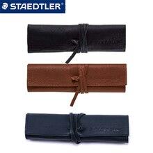 1PCS STAEDTLER leather pencil case 900 LC-BK / CA business pencil case painting pen business leather pencil case
