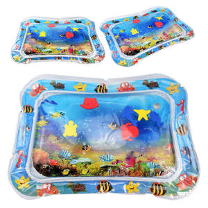 Image 3 - Bebek şişme su dolu yastık çocuk halı oyuncaklar çocuklar için bebek oyun paspaslar oyuncak su eğlence yaz hediye için