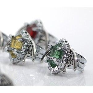7 шт./компл. kateкё Hitman Reborn Vongola Аниме Косплей кольца Крылья модные ювелирные изделия