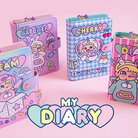 coreano diy kawaii notebook agenda fichario a6