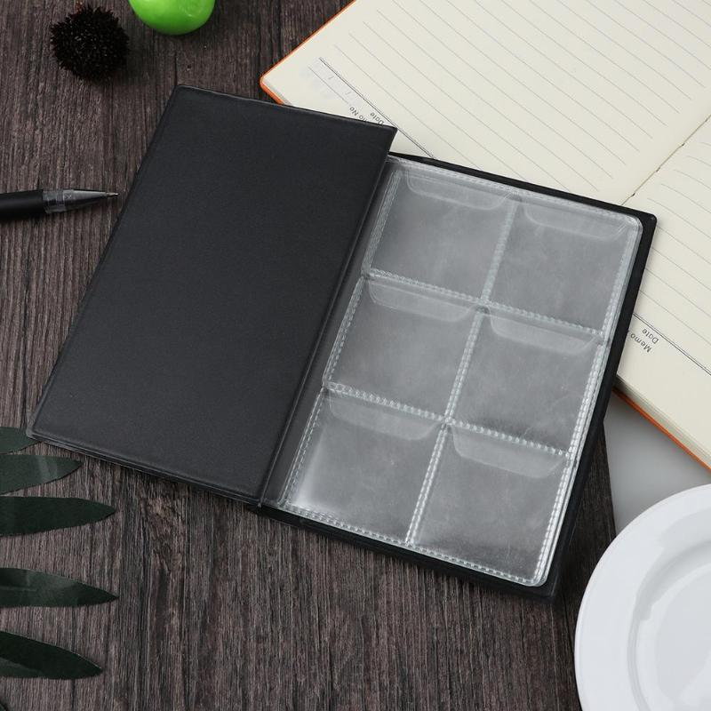 10 Pages 60 Pockets Album Silver Dollar Coins Collection Book Money Penny Collecting Storage Organizer Photo Albums Plastic