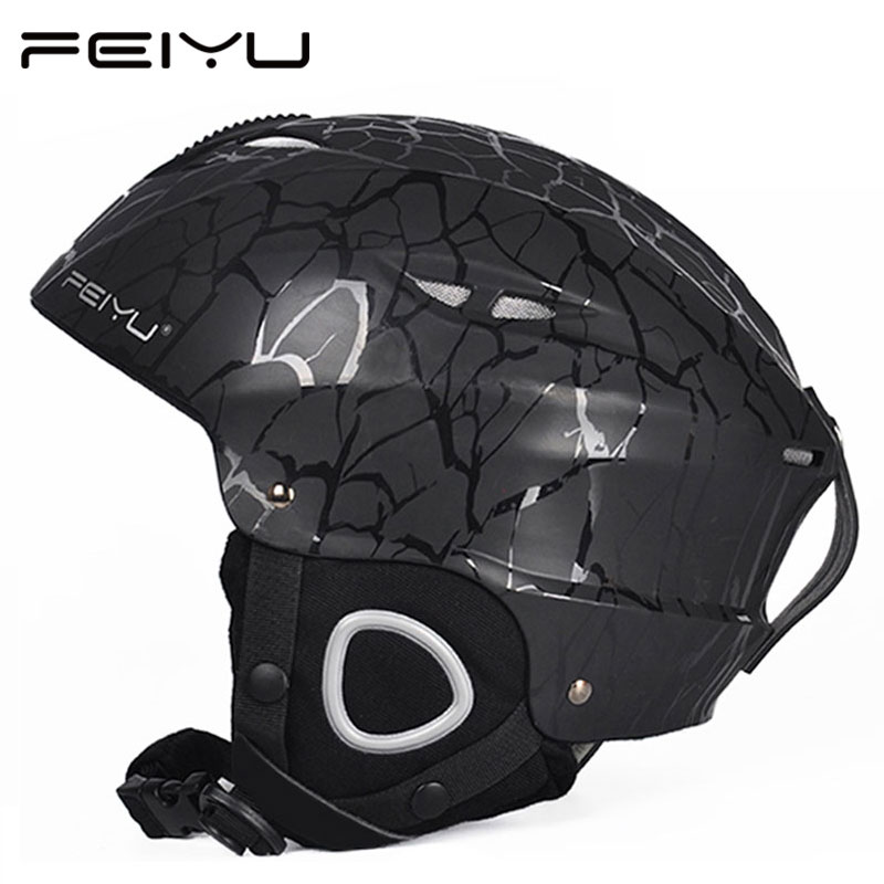 FEIYU CE Certification PC+EPS Adult Teenager Ski Helmet Men Women Skating Skateboard Helmet Snowboard Snow Sports Helmets