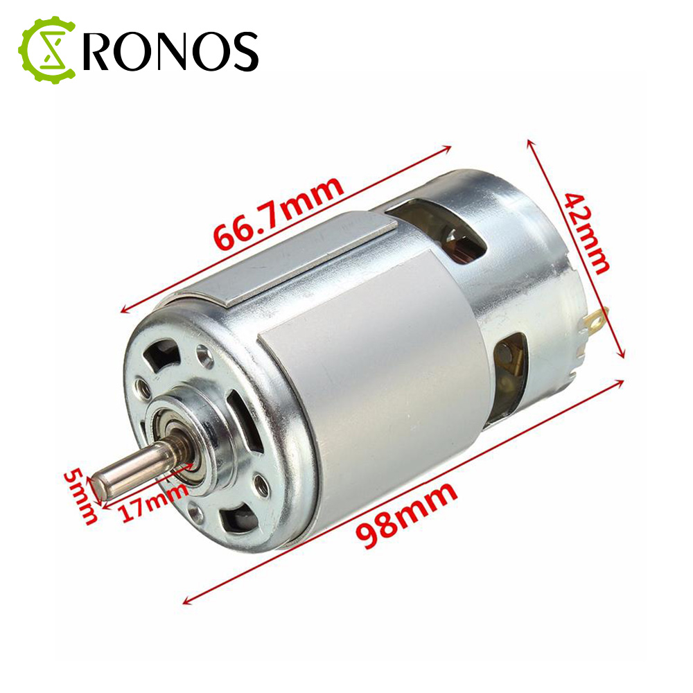 775 DC Motor DC 24V 10000 RPM Ball Bearing Large Torque High Power Low Noise Hot Sale Electronic Component Motor
