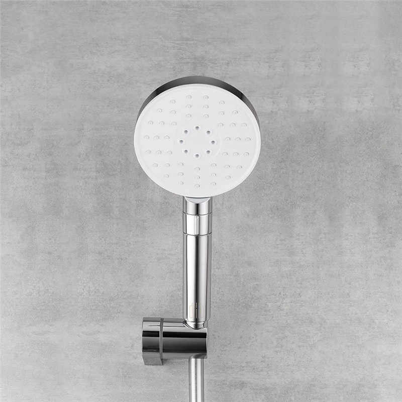 Diiib 3 Modes Adjustment Handheld Shower Head Set 360° 120mm 53 Water Hole with PVC Matel