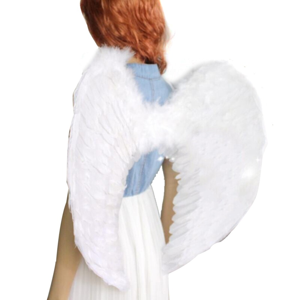 Festival Adults Kids Fairy Angel Wings Halloween Party Fancy Dress Costume For Halloween Party Drop Shipping