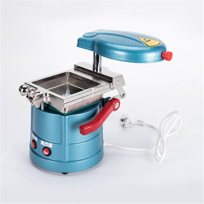Dental Vacuum Former Machine Orthodontic Retainer Laminating Machine With Steel Ball Making Retainer Former Machine