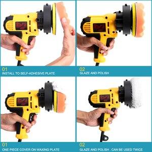 Image 2 - 220v 3700 rpm carro elétrico polisher scratch repair 700w máquina de polimento automático velocidade ajustável lixar depilação ferramentas acessórios