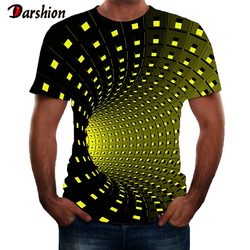Men 3D Print T-Shirts Fashion Short Sleeve For Male Summer O-Neck Tops Streetwear Novelty Casual T-Shirts Popular Men's Tops