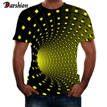 Mannen 3D Print T-shirts Fashion Korte Mouwen Voor Mannelijke Zomer O-hals Tops Streetwear Novelty Casual T-shirts Populaire Mannen Tops(China)