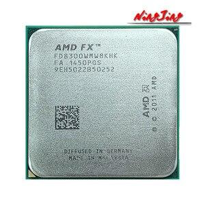 Image 1 - AMD FX 8300 FX 8300 FX8300 3.3 GHz, processeur 8 cœurs, prise AM3 + CPU 95W, paquet en vrac, FX 8300