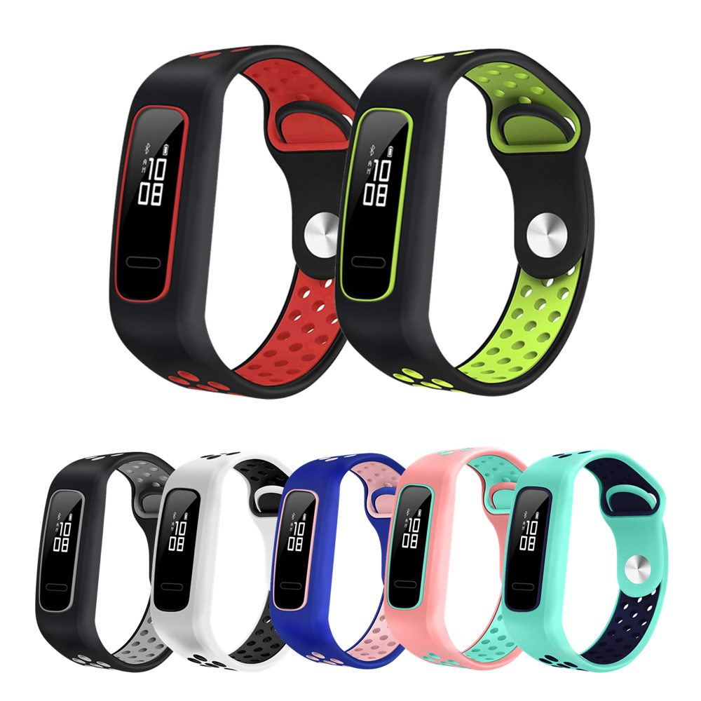 For Huawei Band 4e Basketball Elf Strap Silicone Sport Bracelet For Honor Band 4 Running Wristband For Huawei 3E AW70 Smart Band