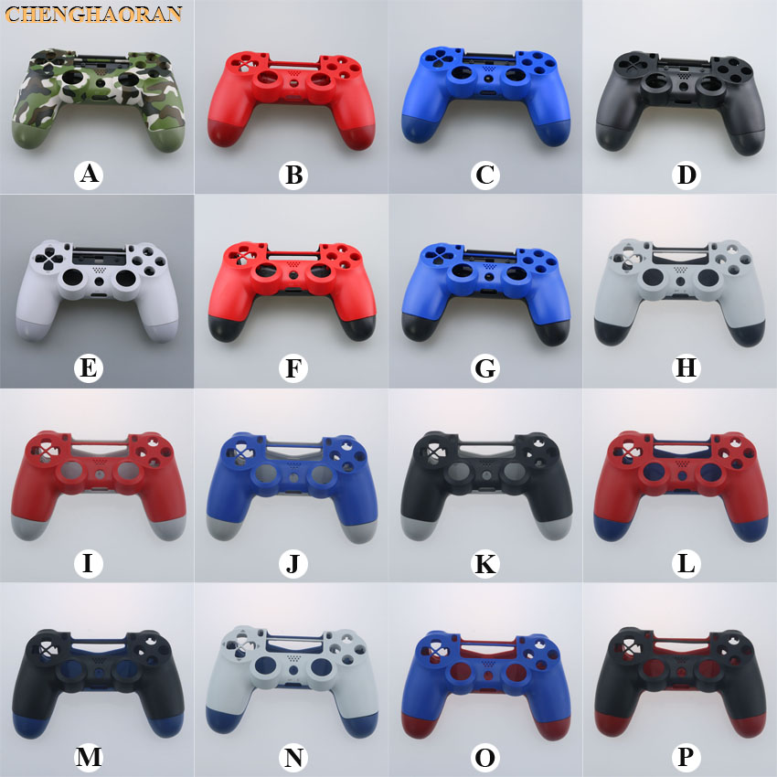 17colors 1set Replacement Housing Shell <font><b>Case</b></font> for Sony <font><b>PS4</b></font> Pro 4.0 Wireless Controller JDS040 Mod Kit Cover for Dualshock 4 Pro image