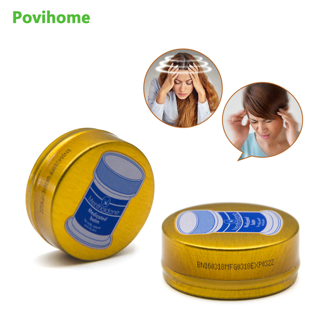 1/3/5pcs Gold Balm Ointment Cooling Oil Refresh Cream Anti-motion Cold Headache Muscle Rub Aches Pain Relieving P0037
