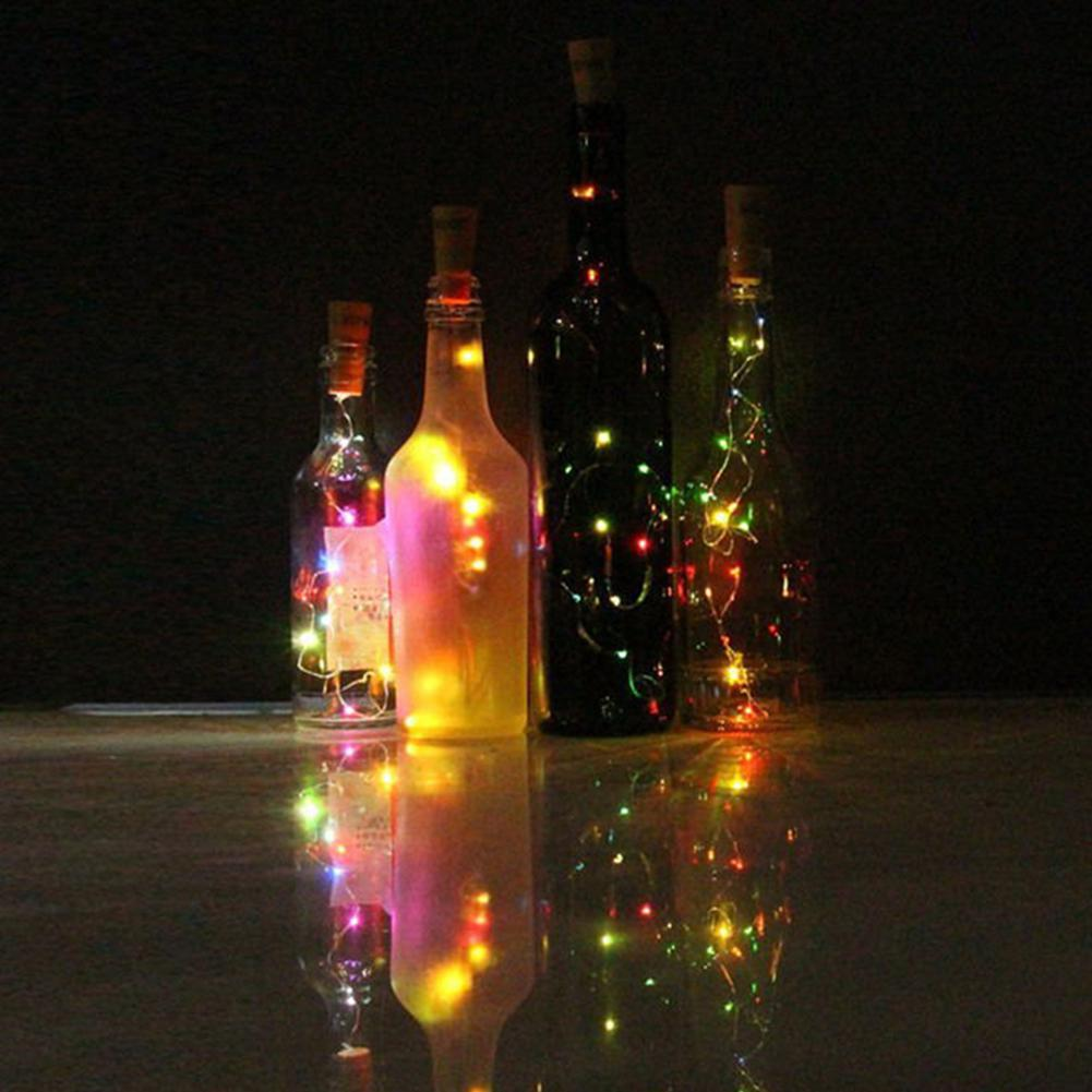 HobbyLane Battery Power Bottle Lights 2M 20LEDs String Lights For Bistro Wine Bottle Starry Bar
