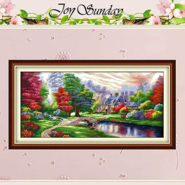 The Ambilight patterns Counted Cross Stitch Diy 11CT 14CT Cross Stitch Set Chinese Cross Stitch Kit Embroidery Needlework