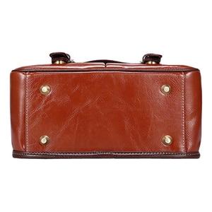 Image 5 - Luxury Camera Case Handbag Waterproof Shoulder Messenger Bag Fashion Retro PU Leather DSLR Case Gadget Bag for Sony Canon Nikon