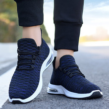 Outdoor Walking Sneakers High Quality Sports Shoes Men For Men Sneakers Breathable Outdoor 2020 Fashion Green Casual Shoes original mizuno wave prophecy 6 professional weightlifting shoes men sneakers outdoor high quality sport sneakers size 40 45