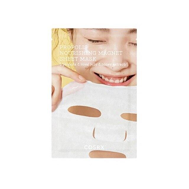 COSRX Full Fit Propolis Nourishing Magnet Sheet Mask 3ea  Moisturizing Skin care Korean Mask Face Whitening Depth Replenishment