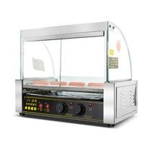Машина для жарки сосисок, машина для приготовления хот-догов, коммерческая машина для колбасы, автоматическая машина для приготовления хот-догов