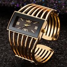Bracelet Watch Clock Dress Bangle Quartz Rose-Gold Analog Women Ladies Luxury Relogio