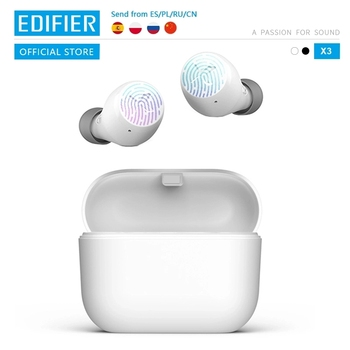 EDIFIER X3 TWS Wireless Bluetooth Earphone bluetooth 5.0 touch control voice assistant (limited edition is black)