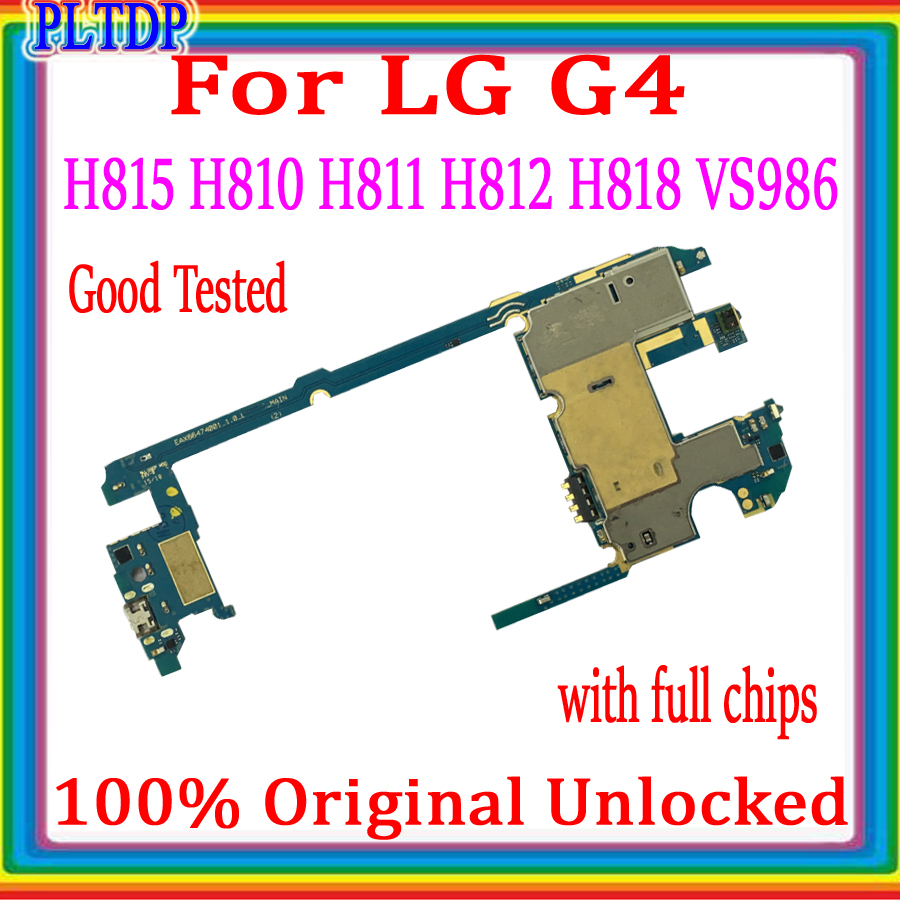 100% Original unlock For <font><b>LG</b></font> G4 <font><b>H815</b></font> H810 H811 H812 H818 VS986 <font><b>Motherboard</b></font> good tested For <font><b>LG</b></font> <font><b>H815</b></font> with full chips Logic board 32 image