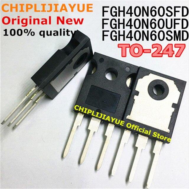 5PCS FGH40N60SFD TO247 FGH40N60 40N60 FGH40N60SMD FGH40N60UFD TO 247 nuovo ed originale IC Chipset