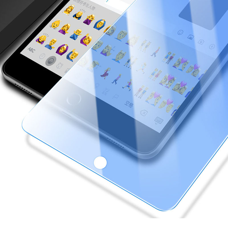 Anti-Blue Light Tempered Glass For IPad 2017 2018 Air 1 Air 2 Pro 10.5 Screen Protector Tablet Film For IPad Mini 2 3 4 5