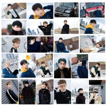 24Pcs/Set High Quality Kpop Seventeen Photocard Photo Card PVC Crystal Card Stickers For Bus Student Card Stationery Set 18pcs set kpop mamamoo reality in black album melting photo version for student card bus pvc crystal card