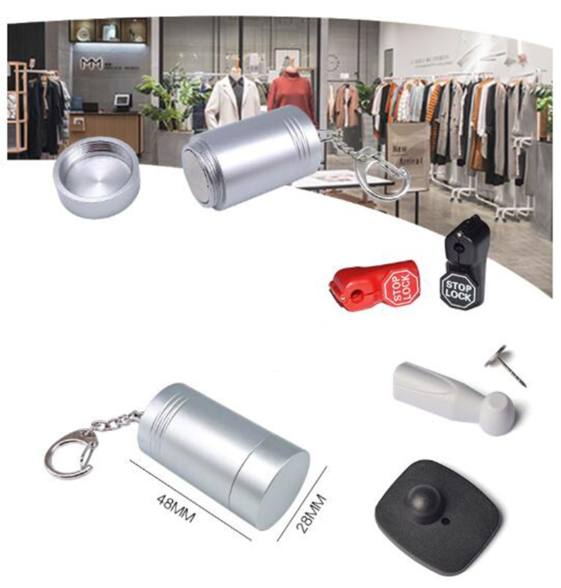12000GS Super Mini Golf Detacher Magnetic Tag Detacher For Security Tag Hook Golf Detacher Tag Remover Opener Unlock