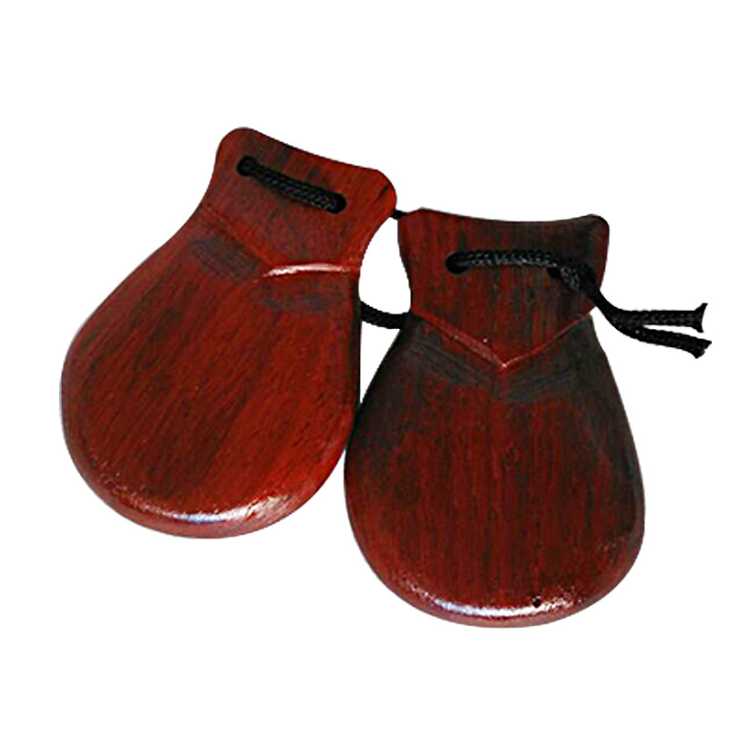 Orff Music Instrument Large Size Wood Castanets Kindergarten Curriculum Teaching Toys Educational Early Childhood Beat