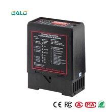 220V Black Single way induction Loop Detector sense PD132 For Intelligent Car Parking Lot System