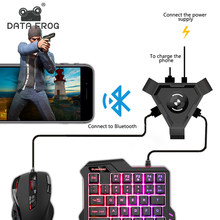 Adaptor Bluetooth Pubg Mobile Gamepad Controller Permainan Mouse Keyboard Converter untuk Android IOS Ponsel Ke PC Plug And Play(China)