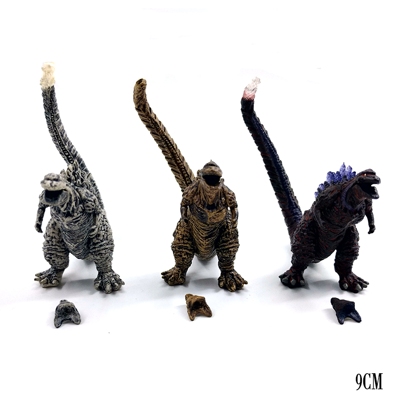 Godzilla Figure Toys Model Limited Second Generation Monster Action Figure Movable Doll Model Toy Jongens Kid Kind Speelgoed 9CM