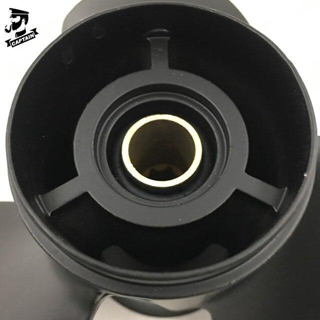 Фото капитан пропеллер 9x8 черный max fit mercury mariner силы для