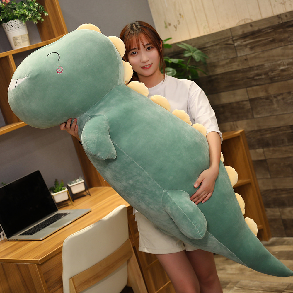 Permalink to Big Dinosaur Toys Girl Pillow Stuffed Animal Plush Toys Stuffing Dinosaur Doll Lovely Cushion Soft Plush Pillow for Kids Gift