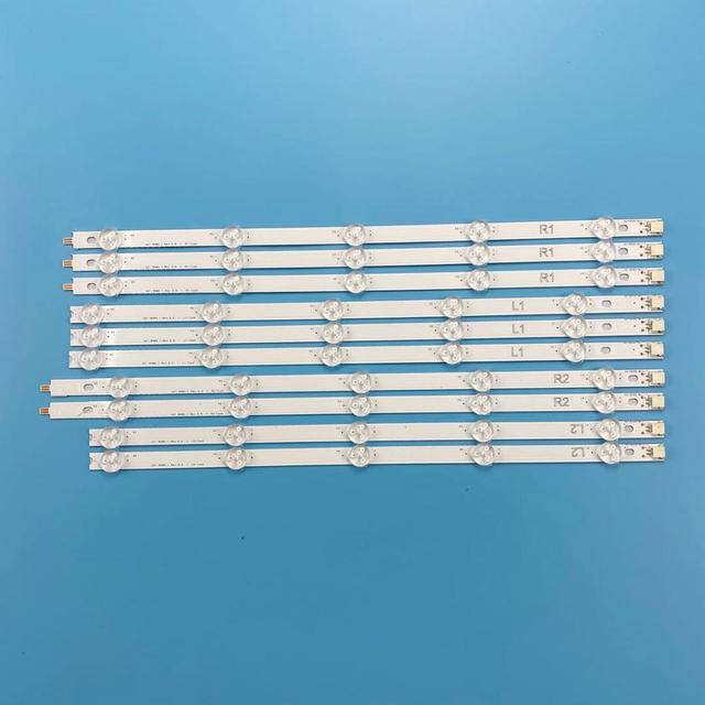 "LED תאורה אחורית רצועת עבור LG 42 ""הטלוויזיה 6916L 1412A 6916L 1413A 6916L 1414A 6916L 1415A 42LN540V 42LN613V 42LA620V 42LA615V"
