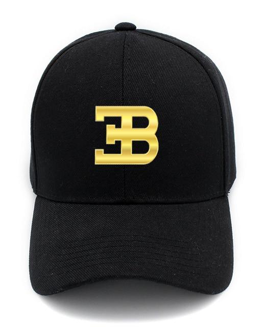 Gold Bugatti Cap Fashion Accessories Baseball Hat Golf Hat Snapback Cap Men Women Cap Sports Cap Outdoors Cap Hip-hop Cap 4