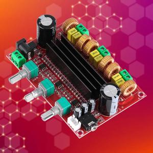 Image 5 - TPA3116D2 2.1 Digital Audio Amplifier Board DC 24V 80Wx2+100W Subwoofer 3 Channel Amplificador Module for 4 8 Ohm Speaker