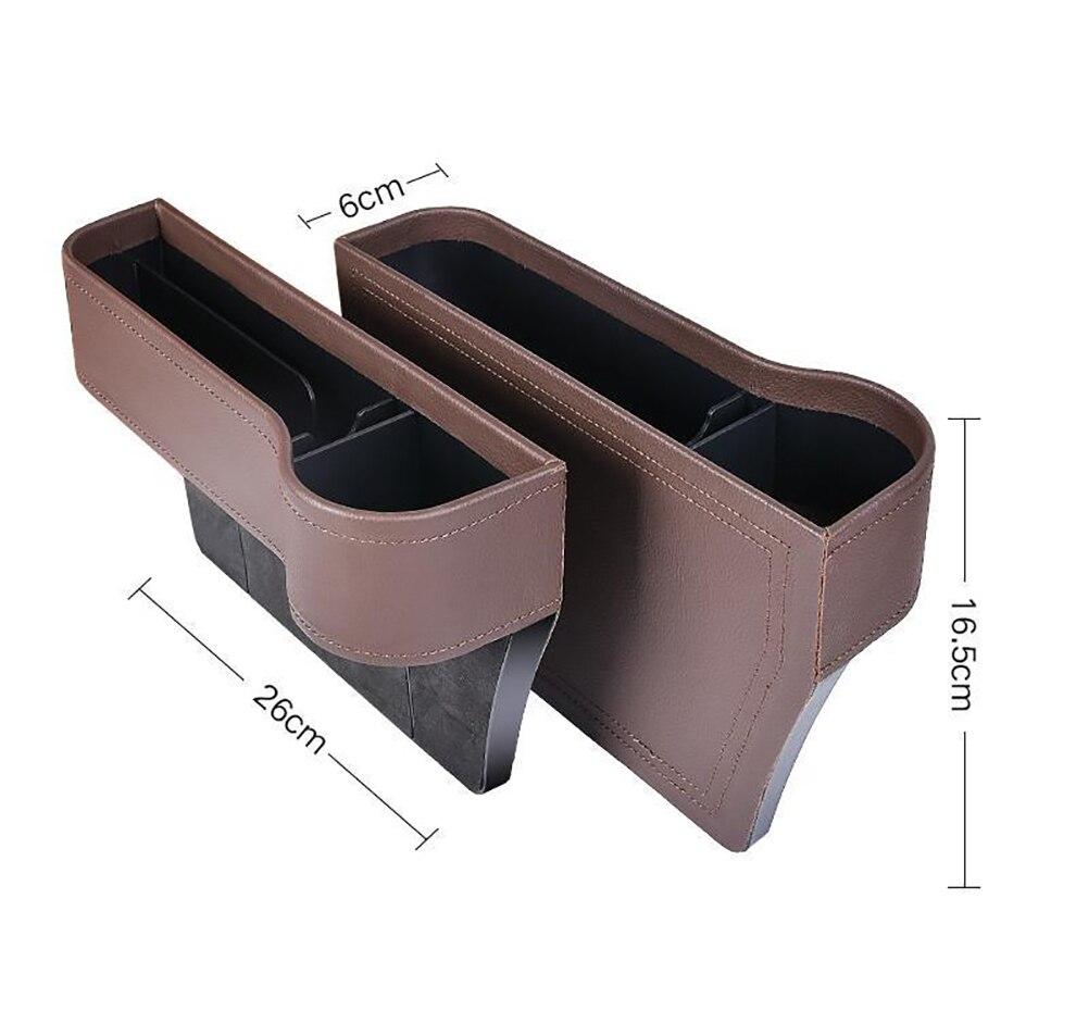Organizador para hueco de asiento de coche / Bolsillo asiento delantero coche / Logropirata /