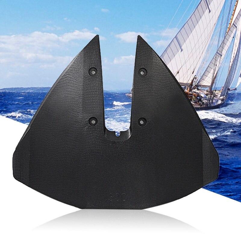 1 pçs barco hidrofoil estabilizador para externos & stern drives 30-300 hp motor 17x14.5 Polegada acessórios do barco marinho 2019 novo