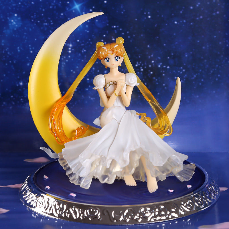 13cm-Japanese-Anime-Sailor-Moon-20th-Anniversary-Pretty-Guardian-Tsukino-Usagi-PVC-Action-Figure-Toys-Wings
