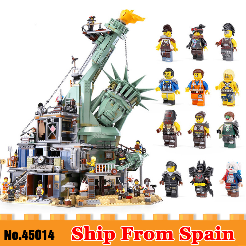 DHL 45014 Movie Toys Series The 70840 Welcome to APOCALYPSEBURG Set Building Blocks Bricks Assembly New