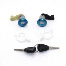 Левый+ правый цилиндр замка двери автомобиля с 2 клавишами для Renault Megane Scenic Clio Master OE 7701468981 7701468982